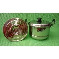 Panci kukus - steamer 20cm-24cm / 555 / Stainless Steel