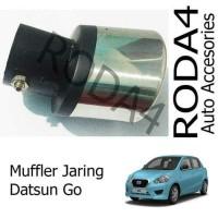 Muffler Buntut Recing Jaring Mobil Datsun Go