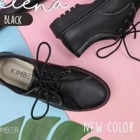 ✢yciღ *Terbaik* Kimber Shoes - Sepatu boots flat docmart wanita