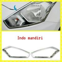 Garnish List Cover Lampu Depan Datsun Go 100% Original