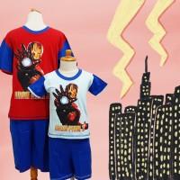 [Special price] Baju Tidur anak Bon Nuit (Iron Man) St. lgn pdk cln pd