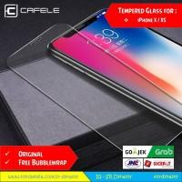 Tempered Glass CAFELE iPhone X iPhone 10 2.5D Antigores