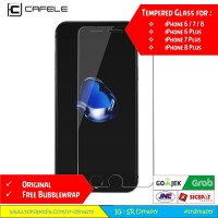 CAFELE Tempered Glass iPhone 6 6s Plus / 7 Plus / 8 Plus - HD Clear