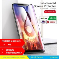 Tempered Glass 4D CAFELE Xiaomi Mi8 Mi 8 Full Cover