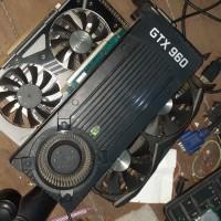 GTX 960 2GB DDR5 VGA Gigabyte Asus MSI not 1070 n 1060 n 1050 n 970