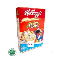 Kelloggs Froot Loops Sereal Buah 300 Gram