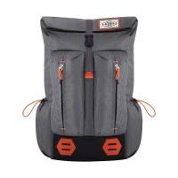 Tas Ransel Laptop + H-1209 Kuning /Daypack Distro Backpack Korea Eiger