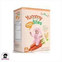 YUMMY BITES Rice Crackers Carrot Box 50g / 50 g