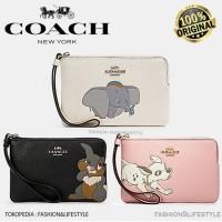 Coach x DISNEY Wallet Corner Zip Wristlet With Dumbo Leather Original - No 1