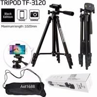 Tripod Weifeng 3120 / Tripod Kamera 1 Meter Hitam Free Tas + Holder U