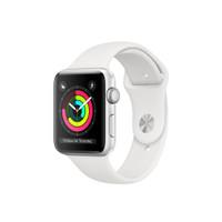 Apple Watch Series 3 42mm Silver Aluminum White Sport Band Resmi iBox