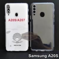 Case Samsung A20S PREMIUM CLEAR SOFT CASE Bening Transparan Casing