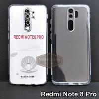 Case Redmi Note 8 PRO PREMIUM CLEAR SOFT CASE Bening Transparan Casing