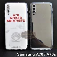 Case Samsung A70S A70 PREMIUM CLEAR SOFT CASE Bening Transparan Casing
