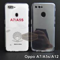 Case Oppo A12 A5s PREMIUM CLEAR SOFT CASE Bening Transparan Casing