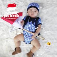 baju jumper bayi jas batik dasi biru