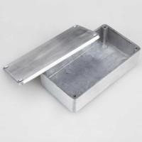 Box Kotak Casing Aluminum Metal Stomp Pedal Efek Gitar