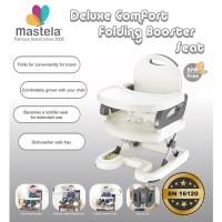 MASTELA Adjustable Booster Seat / Kursi Makan Bayi - CREAM - 07110