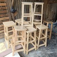 kursi bar / kursi tinggi / bangku tinggi / kursi cafe