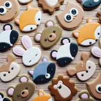 Hewan Hutan 3 - Butter cookies kukis hias lucu kue kering lezat