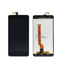 LCD TOUCHSCREEN OPPO R819 / FIND MIRROR BLACK-WHITE