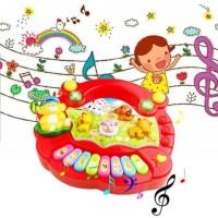 MAINAN PIANO ANAK FARM PIANO ANIMAL PIANO BAGUS MURAH DOREMI MUSIK
