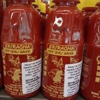 SRIRACHA hot chili saus 200 ml jar