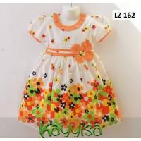Baju Dress Anak Perempuan Terusan umur 3 Tahun Katun Jepang Adem