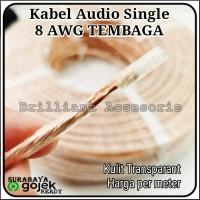 Kabel Power Audio 8Awg - Murni Tembaga