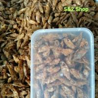 Goreng Garing Baby Fish Ikan Wader Chrispy Crispy Krispi Gurih 250gram