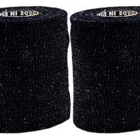 Powerflex 3 Stretch Athletic Tape - BLACK - 2 Rolls