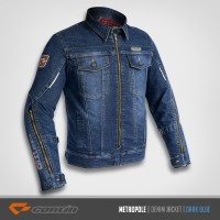 Continmoto METROPOLE Denim | Contin METROPOLE | Jaket Motor - S