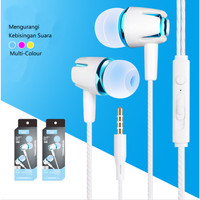 CIJI S21 Earphone Wire Control Powerful Bass Stereo Sound