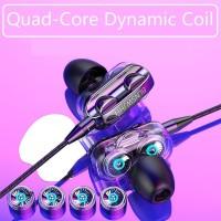 CIJI QCB-01 Earphone Sport Model In-Ear Sport Mic-Control