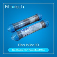 Filter Alkali penambah PH /BIO ALKALINE 5 in 1/Alkaline RO / Penaik PH