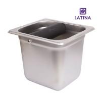 Latina Knock Box Stainless Big Bar Tall STA-3331