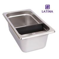 Latina Knock Box Stainless Big Bar WIDE LONG STA-3332