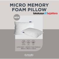 Bantal Micro Memory Foam Pillow Dunlopillo