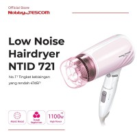 TESCOM Pengering Rambut NTID721 Ion Hair Dryer (Low Noise Model)