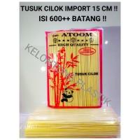 Tusuk Sate Import atoom 15 cm, Cocok untuk Cilok, Bakso, Sosis, dll