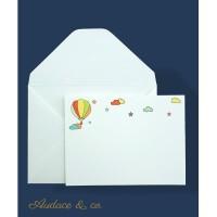 9 pcs/set kartu Balon & amplop ucapan ulang tahun anak kartu kosong