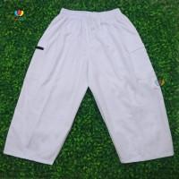 Baju Anak Celana Sirwal Pangsi Putih uk SUPER JUMBO / fit to 4XL Haji