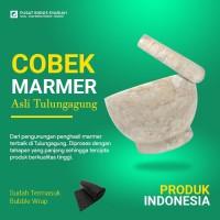 Cobek Marmer Asli Tulungagung + Bubble Wrap
