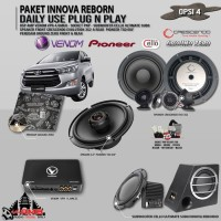 Paket Audio Mobil Innova Reborn Daily Use Plug n Play Opsi 4