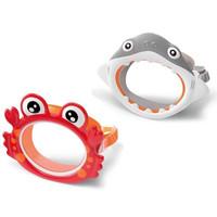 Kacamata Renang Selam Anak Lucu Crab & Shark INTEX FUN MASK KIDS 55915