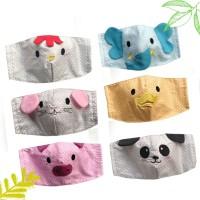 Baby Animal Cloth Mask / Masker Karakter