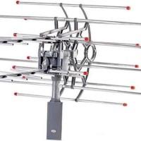 ANTENA TV DIGITAL DENGAN REMOTE & BOOSTER PF 850 FREE KABEL 10 meter