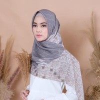 hijab/kerudung segiempat motif bahan voal premium ukuran115x115