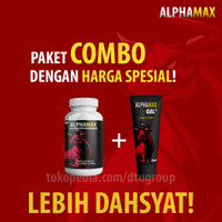 Alphamax Gel & Kapsul - Paket COMBO Lebih Dahsyat