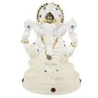 Arca Ganesha Giok Asli India 10 vm